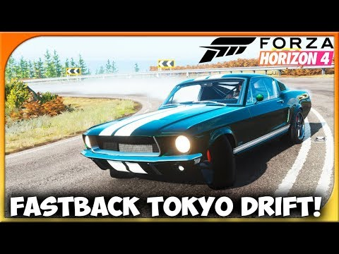 MUSTANG FASTBACK FAST AND FURIOUS TOKYO DRIFT! | FORZA HORIZON 4 #74 | DEWRON thumbnail