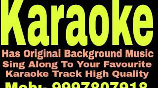 Pyar Jhoota Sahi Duniya Ko Dikhane Aaja Karaoke - Taqiqaat { 1993 } Vinod Rathod Track