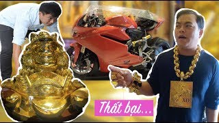 Phúc XO suýt mất Ducati 1,5 tỷ khi khách đẩy Cóc Vàng 500 ký ra cửa