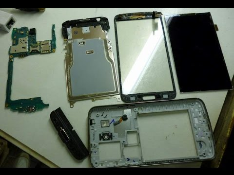 Disassembly + Change Screen Samsung G7102 Galaxy Grand 2