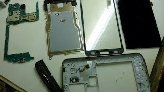 Disassembly + change screen Samsung G7102 Galaxy Grand 2