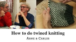 How to do twined knitting by ARNE & CARLOS.