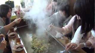2012/12/16 高知遠征2日目の昼食風景。MAGICスタッフの方に宿毛市にある...