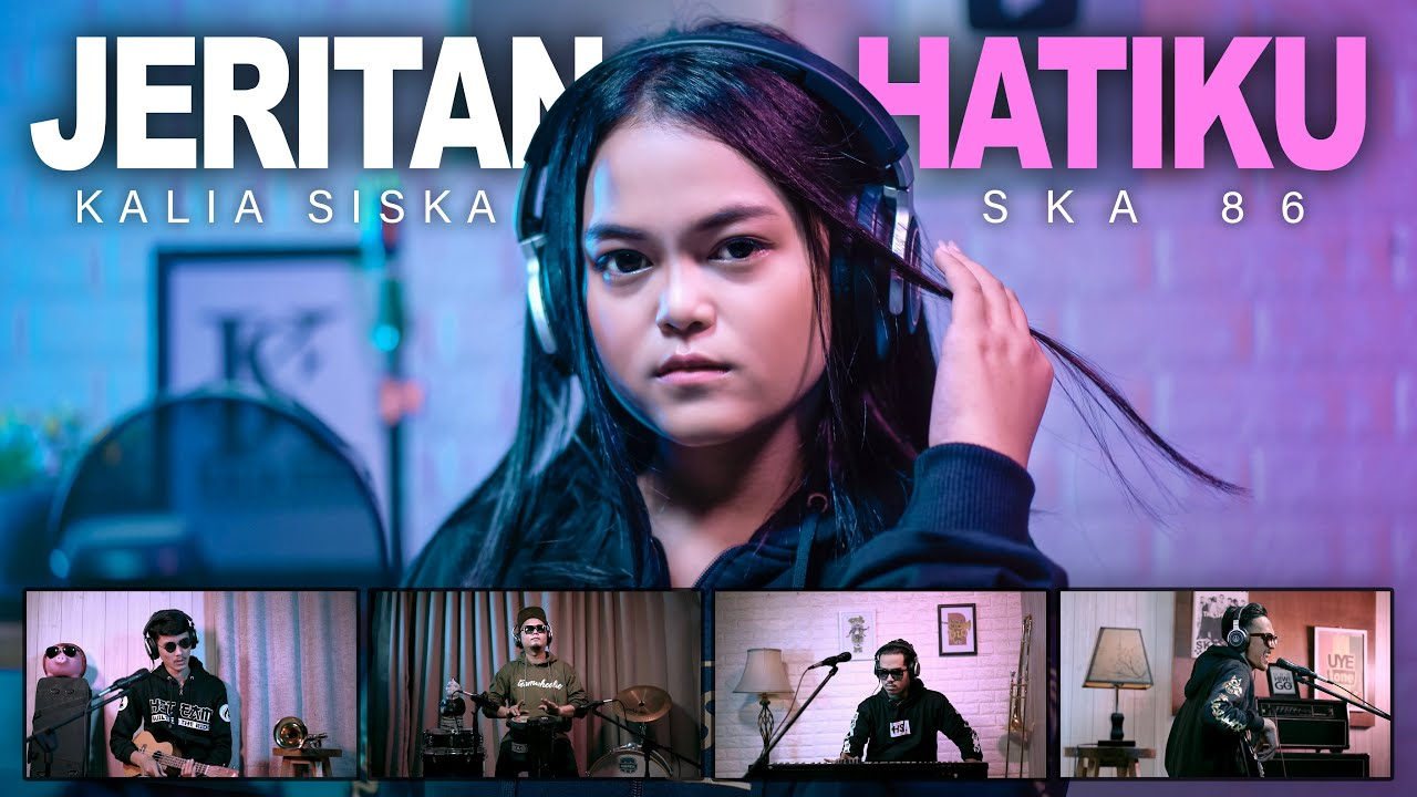 KALIA SISKA feat SKA 86 | JERITAN HATIKU (Official Music Video)