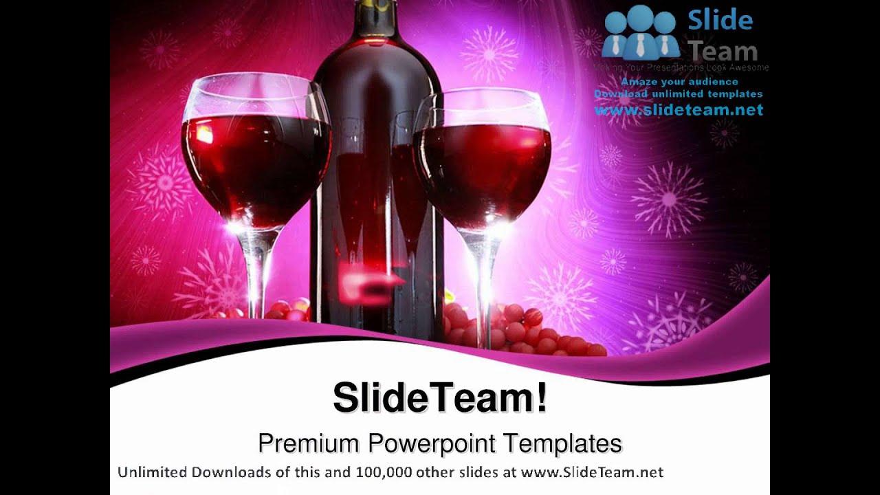 Bottle of red wine food powerpoint templates themes and backgrounds bottle of red wine food powerpoint templates themes and backgrounds ppt themes toneelgroepblik Images