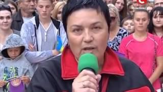 Караоке на майдане. Алла Краснопольская. 2014
