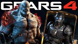 Gears of War 4 - New Diamond Ruby Scion Characters, New Gear Packs & Unlockable Weapon Skins!