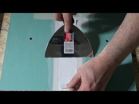 Лента Кнауф с перфорацией 4 #Эксперименты   Finishing A Drywall