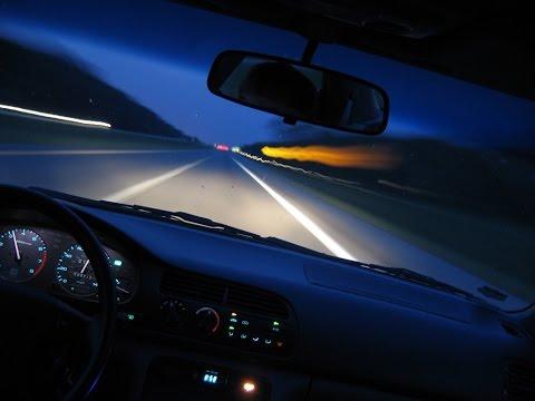 Как правильно ездить в темное время суток