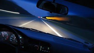 Безопасное вождение ночью. Как правильно водить в темноте?(Ночное вождение более опасно чем днем, существенно снижается видимость. Безопасное вождение ночью по силам..., 2015-08-09T13:18:05.000Z)