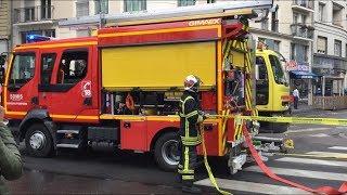 [Accident BUS] Intervention Sapeurs pompiers Lyon