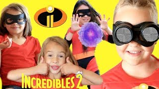 Incredibles 2 Screen Slaver! Violet Violet Saves Dash with Friend Incredibles