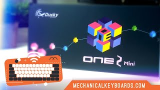 Ducky One 2 Mini RGB 60% Keyboard MX Switch Sound Test (all types) by MK