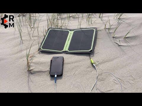 Review Goalzero Nomad 7 Plus Solar Panel