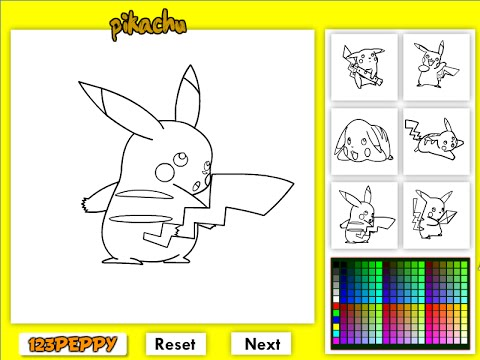Pokemon Coloring Pages For Kids Pokemon Coloring Pages