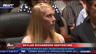 """FOX 10 Phoenix """"I'M SELFISH"""" Skylar Richardson SENTENCING"""