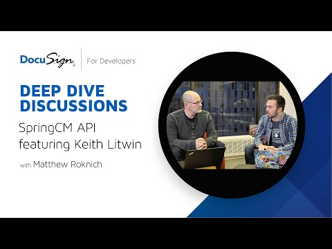 DocuSign Developer: SpringCM REST API