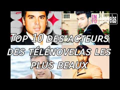 Top 10 des acteurs des télénovelas les plus beaux! #2  -  Info télénovelas
