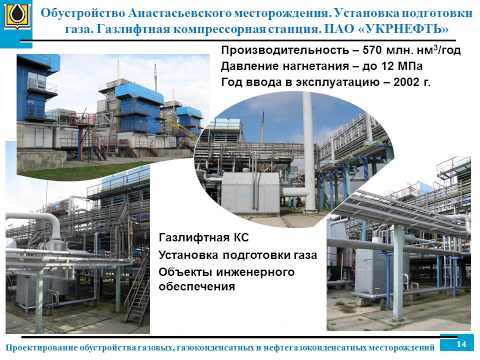 проектирование обустройства газовых месторождений