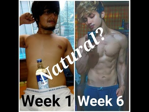indian-teen-extreme-6-weeks-fat-loss-transformation-|-skinny-fat-to-muscle-|-ritzshred
