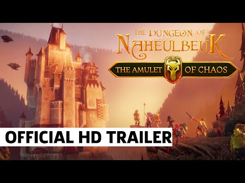 Dungeon Of Naheulbeuk Exclusive Release Date Reveal Trailer