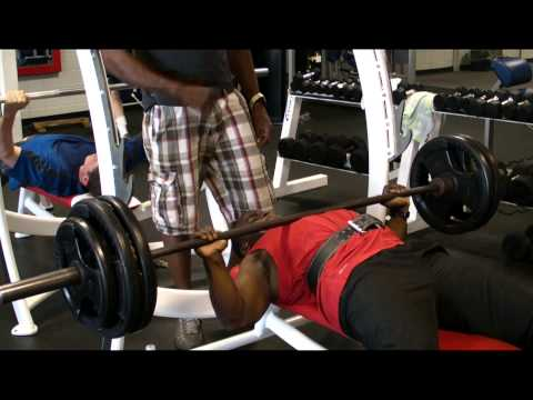 350/415 Bench Press plus Workout