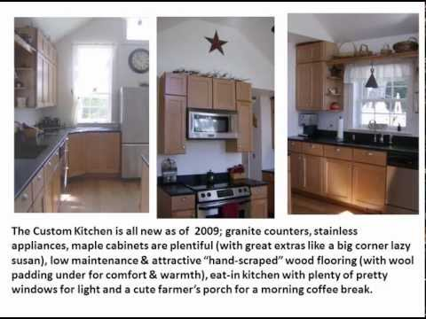 Home & Farm for sale, Marlow, New Hampshire 13 acres , NH post & beam colonial
