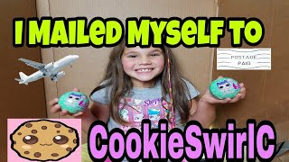 I Mailed Myself To CookieSwirlC to give her Wave 2 Lil Sister and IT WORKED! Skit