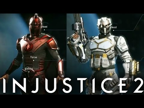 Injustice 2: Deadshot & Dr. Fate Gear First Look! New Swamp Thing  Gear (Injustice Gods Among Us 2)