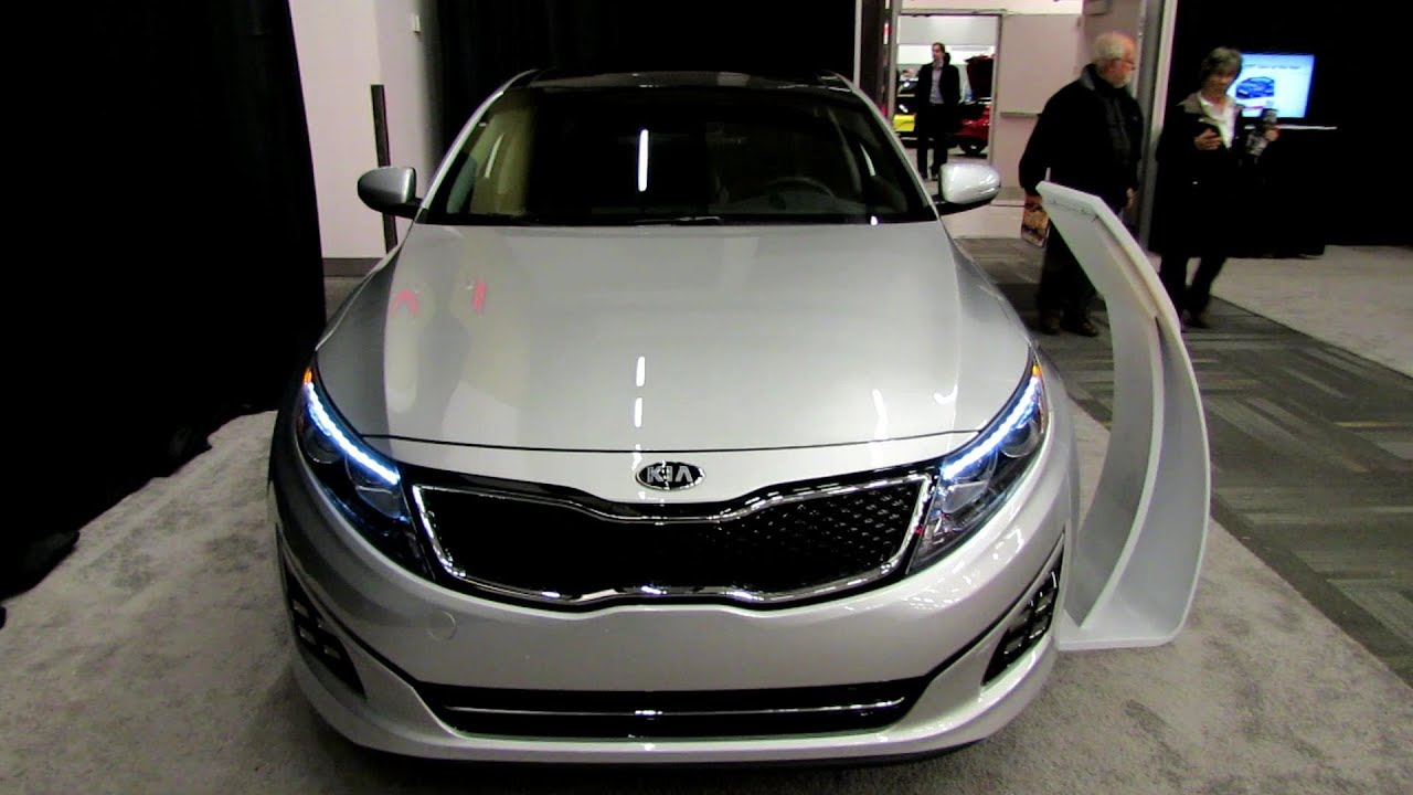 2014 KIA Optima SX T-GDI - Exterior and Interior Walkaround - 2014 ...