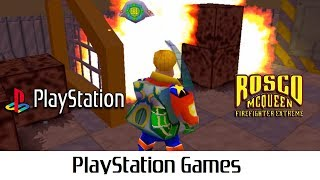 Rosco McQueen: Firefighter Extreme (Quick Gameplay) Playstation