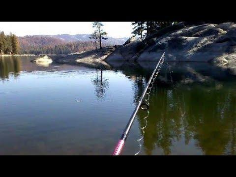Fishing at shaver lake youtube for Shaver lake fishing report