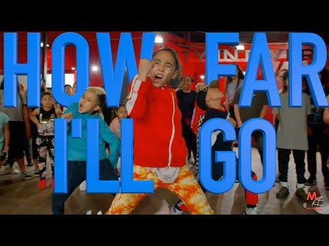 Aulii Cravalho  How Far Ill Go  Phil Wright Choreography  Ig: @philwright