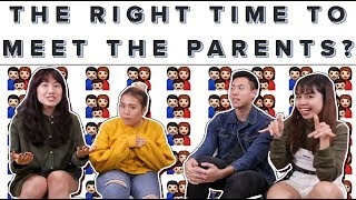 When Is It The Right Time To Meet The Parents? | ZULA ChickChats: EP37