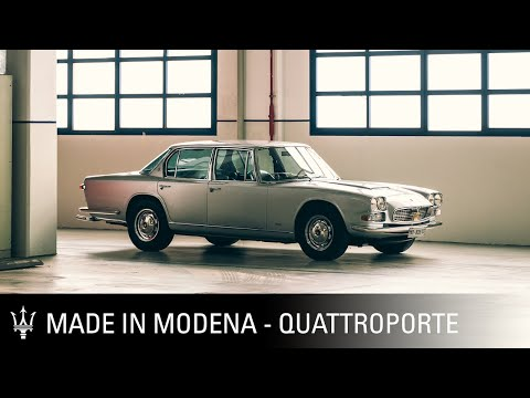 Made in Modena. Episode Five. Maserati Quattroporte