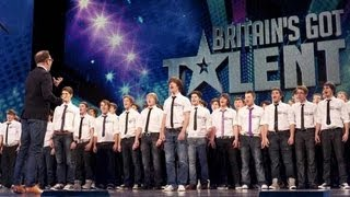 Only Boys Aloud - The Welsh choir's Britain's Got Talent 2012 audition - International version