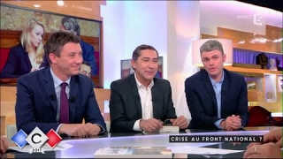 Crise au Front National - C à vous - 10/05/2017