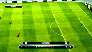 PES 2013: Real Madrid - Bayern Munich - Lob goal by Özil!