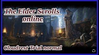 The Elder Scrolls online - Cloudrest / Wolkenruh Trial normal