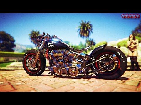 GTA 5 BIKERS SPENDING SPREE: CUSTOMIZING BIKES & MAKING MONEY - GTA5 DLC BIKER GANGSTER LIFE
