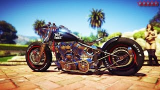 GTA 5 BIKERS SPENDING SPREE: CUSTOMIZING BIKES & MAKING MONEY - GTA5 DLC BIKER GANGSTER LIFE