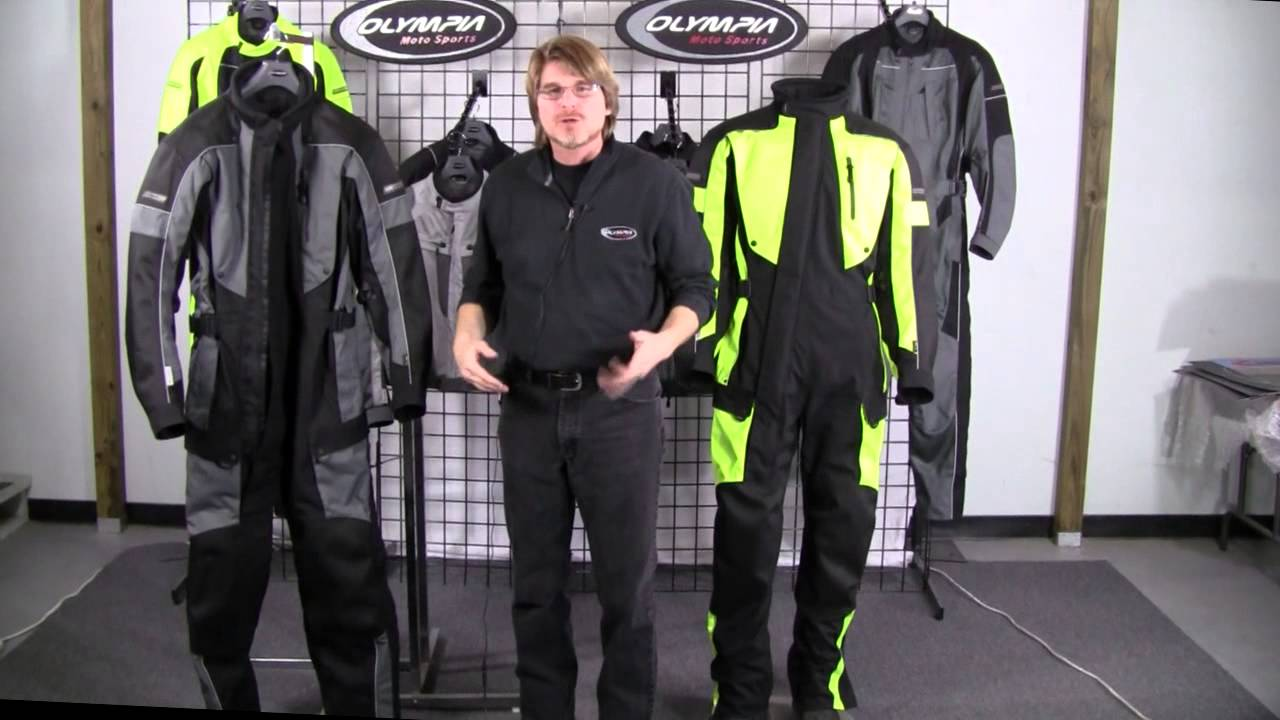 Olympia Moto Sports Mens Odyssey One Piece Suit Youtube