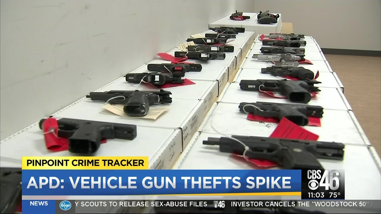 APD: Gun thefts on the rise in Atlanta