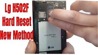 LG Magna H502F Hard Reset Done