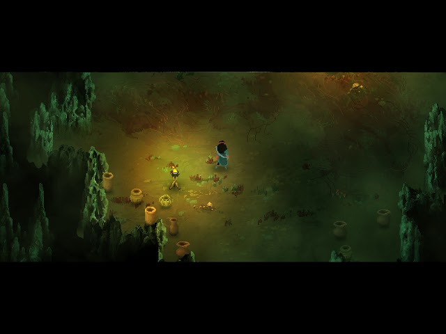 Children of Morta PC gameplay - Rescuing a wolf cub