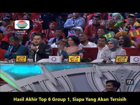 HASIL AKHIR TOP 6 GROUP 1 LIGA DANGDUT, SIAPA YANG TERSISIH..?