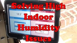 High Indoor Relative Humidity Troubleshooting