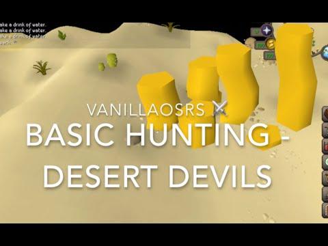 Desert Devil OSRS Beginner Hunting Guide