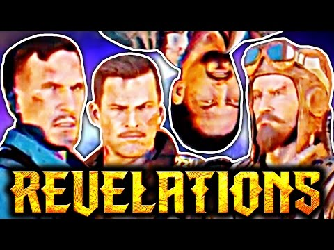 Alcatraz, the blood, & Richtofen's plan: ALL REVELATIONS CHARACTER CONVERSATIONS STORYLINE EXPLAINED