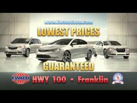 Ewald Chrysler Jeep Dodge Ram November 2015 TV Spot